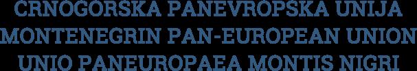 Crnogorska Panevropska Unija  PanEvropa.me